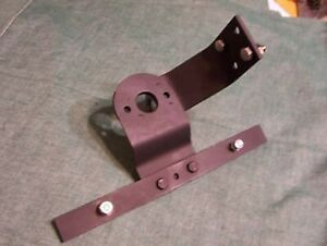 Willys Pickup Truck Left Side Tail Light And License Plate Bracket