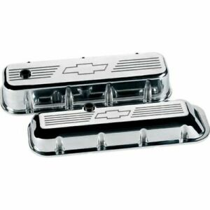 Billet Specialties 96121 Bowtie Tall Valve Covers For Chevy Big Block New