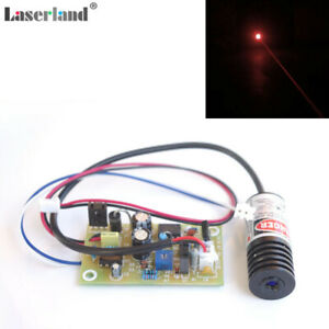 1845 Red Dot 150mw 650nm 660nm Focusable Laser Diode Module 5vdc Ttl