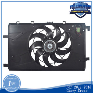 Ac Radiator Condenser Cooling Fan For 2011 2016 Chevy Cruze 1 4l 1 8l L4 620 658