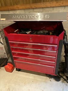 Matco Jsc750 Service Cart Tool Box Chest Red Used 41in