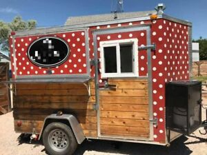 Ready To Serve Used Custom Crepe Food Concession Trailer For Sale In Wyoming
