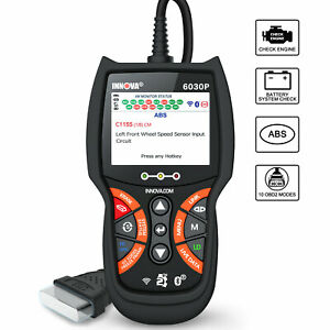 Innova 6030p Automotive Obdii Scanner Abs Battery Test Engine Check Code Reader