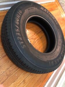 St 235 80 R16 Brand New Trailer Tire