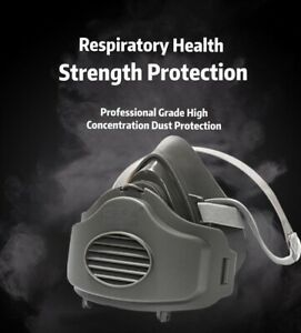 Safety Gas Mask Respirator Half Face Protect Painting Spraying Facepiece