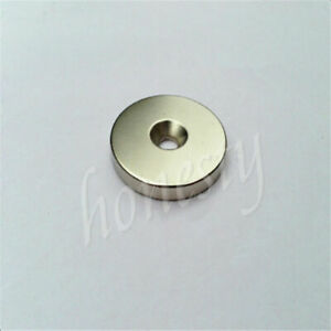 1 2 10pcs N40 Super Strong Round Ring Magnets Hole 3 5 6mm Rare Earth Neodymium