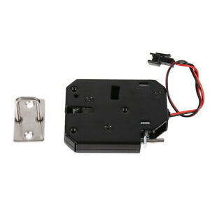 Dc 12v Electromagnetic Electric Control Cabinet Drawer Lockers Lock For Home