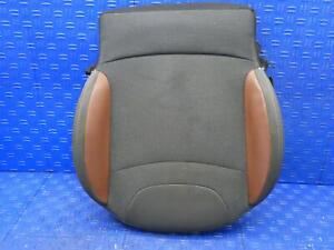 2014 2017 Fiat 500 Oem Left Front Lower Bottom Seat Cushion Brown Gray