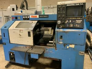 Mazak Qt15 Cnc Turning Center Offered As Is
