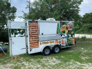 2020 Diamond Cargo Food Concession Trailer used Mobile Food Unit For Sale In Flo