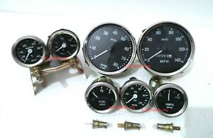Smiths Gauge Kit Temp Oil Fuel Amp oil Temp speedometer tacho Replica