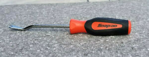 New Snap on Trim Pad Clips Removal Tool Orange Black Soft Grip Handle Asg185b