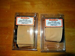 2 Weldtec Tcl 3 10v Cable Covers Leather 3 In X 11 Ft Fits 12 5 Ft Cable