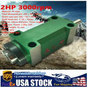 1 5kw 2hp Spindle Unit 3000rpm 5 Bearing Drilling Power Head For Cnc Milling