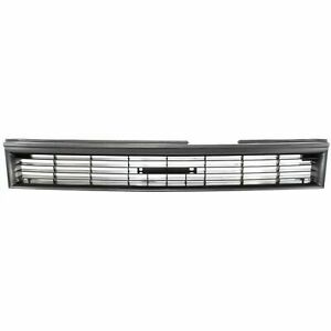 New 1988 1992 Fits Toyota Corolla Grille Primed Dark Gray Shell And Insert