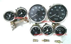 Smiths Gauge Kit Temp Oil Temp Fuel Volt oil speedometer tacho Replica Bc