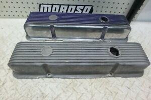 Sbc Chevy Cal Custom Aluminum Valve Covers For Small Block Chevy