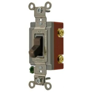 Hubbell Hbl1221 Toggle Switch On off Spst Industrial Series