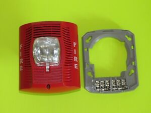 System Sensor Spectralert Advance Spsr Speaker Strobe Red