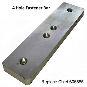 Replacement Chief Frame Machine Fastener Bar Plate