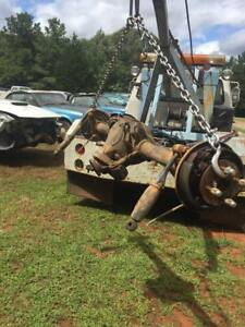 86 93 Mustang 8 8 Rearend Axle Assembly 2 73 Gear Used Tested In Alabama