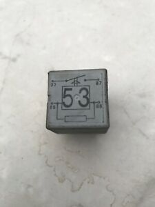 141951253b Audi Vw Porsche 40a Load Reduction Horn Starting System Relay 53