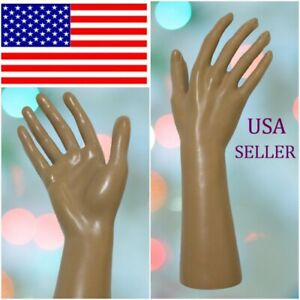 1 one Female Mannequin Hand Display Jewelry Bracelet Ring Glove Stand Holder
