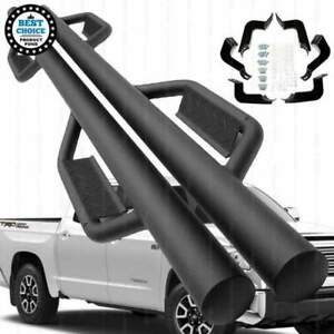 Fit 07 18 Toyota Tundra Crewmax Extended Crew 3 Texture Black Side Step Nerf Bar