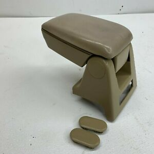 1987 1993 Oem Ford Mustang Factory Tan Center Console Armrest Storage 93 s7615