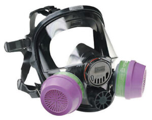 North Full Face Respirators 7600 Series Size M l Filters Not Included