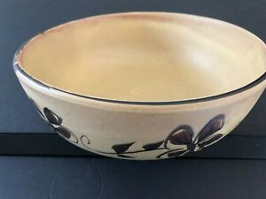 Pacific Stoneware Signed B. Welsh USA 1973 Vintage 10 1 2quot; SERVING MIXING BOWL
