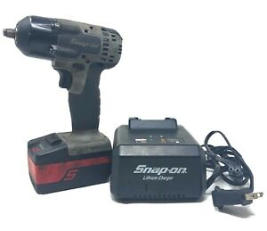 Snap On Ct8810b 3 8 Impact Wrench With Battery And Charger