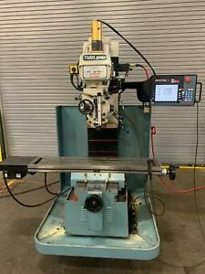 2004 2017 Swi Dpm S3 3 axis Cnc Milling Machine Prototrak Sm Controls 40 Taper