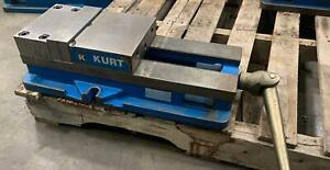 Kurt 8 Ang Lock Precision Machine Vise D80 Cnc Milling Mill W jaws Handle