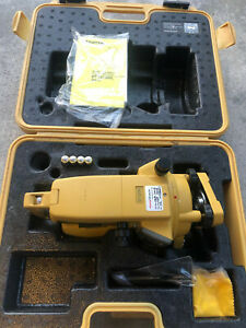 Topcon Dt 209 Optical Digital Theodolite With Carrying Case Dt 200 Series Nice