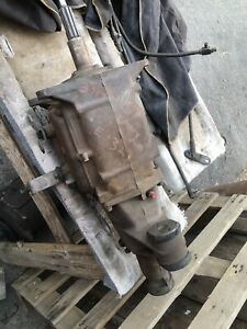Good 1967 Chevy Saginaw Van 3 Speed Transmission 3925647 3887015 W Shifter