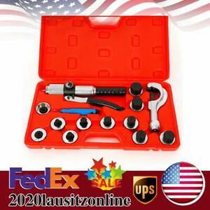 11 Lever Hydraulic Tubing Expander Tool Swaging Kit Hvac Tube Piping Pipe Tools