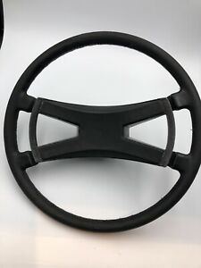 Porsche 914 Steering Wheel Leather Patina Vintage 1974 Original 914 347 088 10