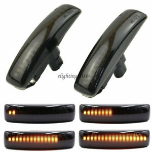 Dynamic Led Side Marker Signal Light For Range Rover Sport Discovery Lr3 Lr4 Lr2