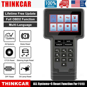 Automotive Diagnostic Scanner Tool Abs Dpf Epb Oil Reset Code Reader For Ford