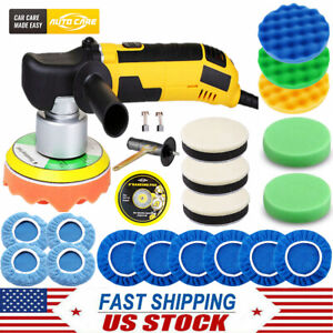 6 Dual Action Car Polisher Buffer Sander Da Orbital Polishing Machine Bonnet Us
