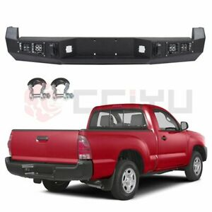 Rear Bumper Steel Step High Quality For Toyota Tacoma 2013 2015 With Led Light