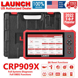 New Launch X431 Crp909x Pro Full System Scan Tool Obd2 Scanner Code Reader 3 4