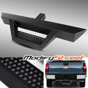 31 3 Tube Black Drop Style Hitch Step Bar For 2 Class 3 Tow Trailer Receiver