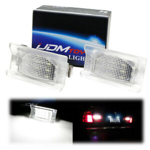 Oe fit White Led License Plate Lights For 1992 95 Bmw E34 5 Series Touring Wagon