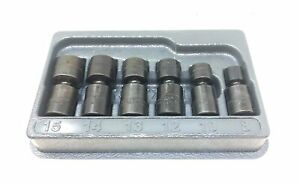 Snap On 106iptmma 6pc 1 4 Drive Metric Impact Swivel Socket Set