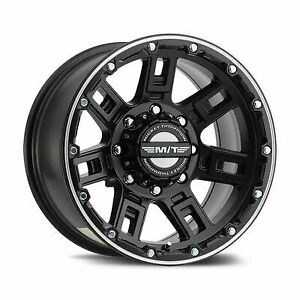 Mickey Thompson Sidebiter Lock 15x8 Wheel With 6x5 5 Bolt Pattern 3358412