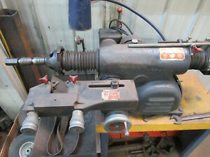 Ammco Brake Lathe Rotor And Drum On Stand