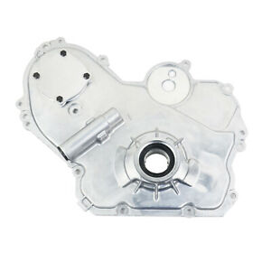 For Gmc Buick Chevrolet Pontiac 02 17 Engine Timing Cover W Oil Pump 12637040