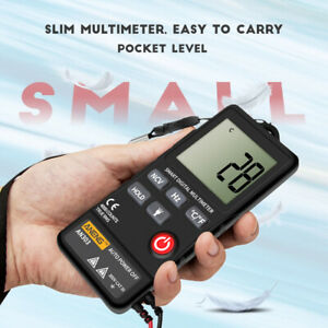 Pocket Mini Digital Multimeter Auto Tester Ac Dc Amp Ohm Continuity Lcd Tester